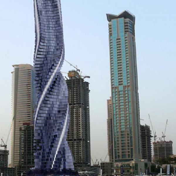 Dubai Rotating Building