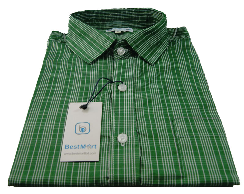 Smart Green tripe Shirt