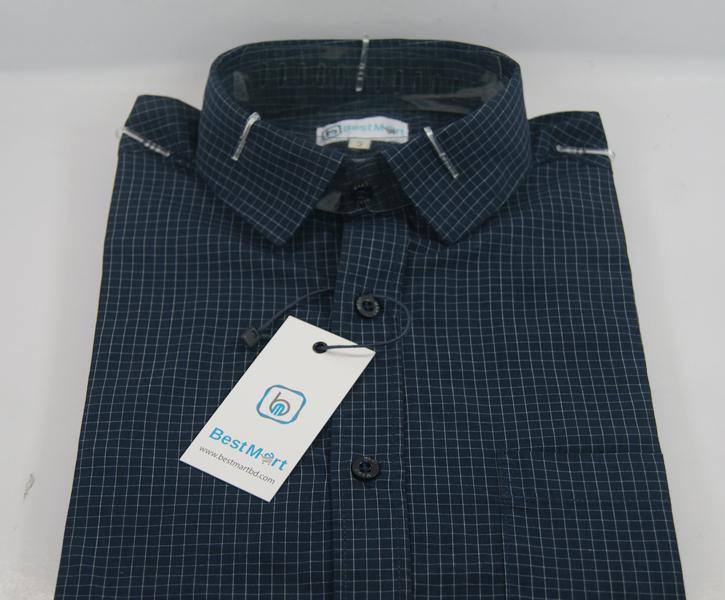 Exclusive Black Check Shirt