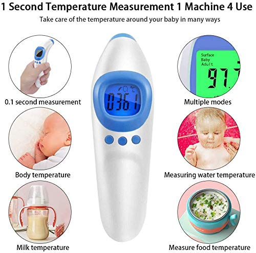 Infrared Forehead Thermometer Thermometer Non-Contact Laser